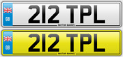 212 Tpl Triple Tipple Topliss Guildford Cherished Number Plate See Shop For More