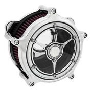 Rsd Clarity Filter Chrome For Harley-davidson Flt And Softail Off 08 - Present
