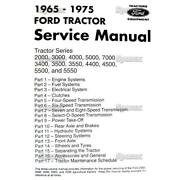 Ford Tractor Factory Oem Shop Service Repair Manual 2000 3000 4000 5000 7000 New