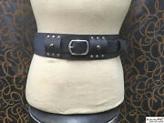 Double Layered Accessorie Belt With Removable Main Belt Larp Sca Cosplay.