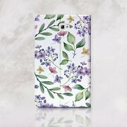 Flowers Samsung Galaxy Tablet A 7 9.7 10.1 Wallet Case Floral Galaxy Tab S2 S3