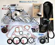 Complete Npw Japanese Water Pump And Timing Belt Kit For Sequoia Tundra 4runner