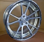 Wheel Dpe Forged - 3 Pieces - 20x10 5x4.75 - Silver