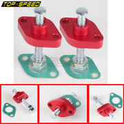 2x Red Manual Cam Timing Chain Adjuster Tensioner For Suzuki Sv650/650s 99-up
