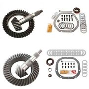4.10 Ring And Pinion Gears And Install Kit Package - Dana 44 Rev Front / 8.8 Rear