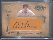 2004 Donruss Leather And Lumber Lumber Cuts Autograph Lc-2 Al Kaline