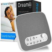 White Noise Sound Machine Sleep Therapy Plays 7 Soothing Sounds+ Timers Etc..