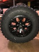 Helo He878 17x9 Wheels Rims 33 Mxt Mt Tires Package 6x135 Ford F150 6 Lug