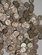 Mercury Dimes 1916-1945 90 Silver Coin Lot Circulated Choose How Many
