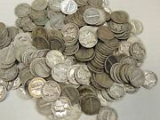 10 Mercury Dimes 1916-1945 90 Silver Coin Lot Circulated Choose How Many