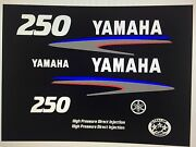 Yamaha Hpdi Decal Kit High Pressure Direct Injection Stickers 250 Hp