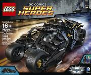 New Sealed Lego Super Heroes The Tumbler 76023 Retired Discontinued