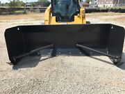 Linville 8and039 X 36 Skid Steer Snow Pusher Lifetime Warranty American Made Usa
