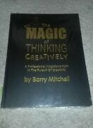 The Magic Of Thinking Creatively By Barry Mitchell - Brand Magic Trick Book