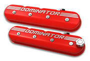 Ls Valve Cover Tall Gloss Red Holley 241-121
