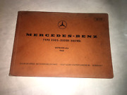 1965 Mercedes Benz 280s 280se 300seb Parts Catalog Manual W108 Chassis Body