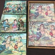 Old Vintage, Cube Puzzle, Toys And Games,
