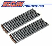 Set Of 16 Pushrods Push Rods For 6.9l 6.9 7.3l 7.3 Ford Navistar Diesel 1983-95