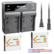 Kastar Battery Rapid Charger For Sony Np-bn1 Bc-csn And Sony Cyber-shot Dsc-w690