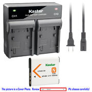 Kastar Battery Rapid Charger For Sony Np-bn1 Bc-csn And Sony Cyber-shot Dsc-wx9