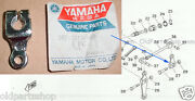 Yamaha Yas3 Rd125 Front Wheel Camshaft Lever 2 Nos Ls2 As3 Rd125b/c 307-25156-00