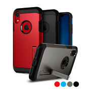 Iphone Xr   Spigenandreg[tough Armor] Dual Layered Protective Shockproof Case Cover