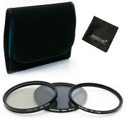 67mm Uv Cpl Nd4 Neutral Density Filter Kits For Nikon Canon Sony Pentax+gift