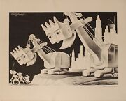 1943 Wickwire Spencer Steel Company - War Production Illustrated Wwii Poster