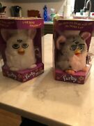 Furby - 70-800 - Listing Is For Two Furbiesnever Opened Rare Pink Belly Tiger