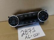 13 14 Mercedes-benz Glk Used Ac And Heater Control 2871-ac