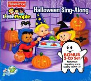 Fisher-price Little People Halloween Kids Sing-along With Bonus Spooky Sounds Cd
