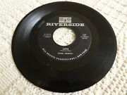 Mark Murray Love/come And Get Me Riverside 4519