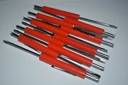 Mini Flat Screwdriver With Tire Hvac Valve Core Remover Top And Pocket Clip 10pc