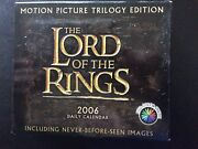 Lord Of The Rings 2006 Daily Desk Calendar