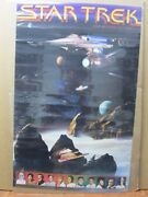 Vintage Poster Sci-fi Star Trek The Motion Picture 1979 Invg2743