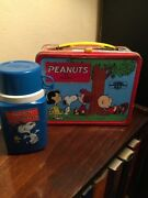 Peanuts Metal Lunchbox With Thermas