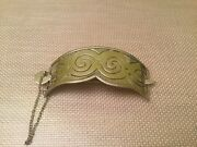 Signed Cony Victoria Taxco Mexico Sterling Silver Hair Bun Holder