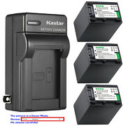 Kastar Battery Wall Charger For Sony Np-fh100 And Sony Dcr-sx40 Dcr-sx41 Dcr-sx50