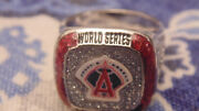 2018 California Angels 2002 Commemorative Coors Light World Series Ring