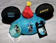 Disney Happy Birthday Mickey Mouse Ear/hat Trading Pin Button- 2017