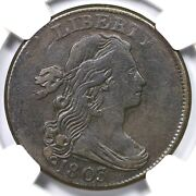 1803 S-262 Ngc F 15 Sm Date Sm Frac Draped Bust Large Cent Coin 1c