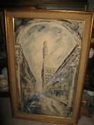 William Selby Expressionism Victorian Ladies Of The Evening Figures In Clouds
