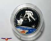 Russia 3 Rubles 2015 First Man In Outer Space Silver 1 Oz Proof