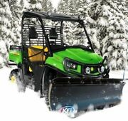 Kfi 66 Utv Poly Blade Snow Plow Kit For 2007-2010 John Deere Gator Xuv 850d