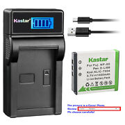 Kastar Battery Lcd Charger For Fujifilm Np-50 Np-50a Fuji Finepix Real 3d W3