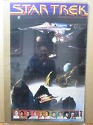 Vintage Poster Sci-fi Star Trek The Motion Picture 1979 Inv2957