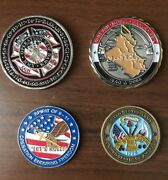 Challenge Coin Lot 416th Civil Affairs 32nd Air Expeditionary Army Specialist