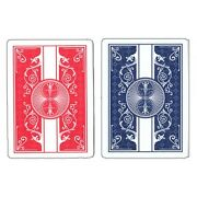 New 4 Four Red Bicycle Prestige Poker Playing Cards 100 Plastic