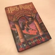 Harry Potter And The Sorcererand039s Stone J.k. Rowling First Edition Near Mint Cond.