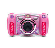 Vtech Kidizoom Duo 2.4 Color Lcd Screen Camera Perfect For Taking Selfies Pink